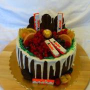 Torta Kinder čokoládková