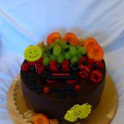 Torta Čokoládová s ovocím pre inštruktorku bodypump-u