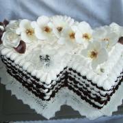 Torta svadobna snehova