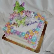 Torta Kvietkovo motýliková...
