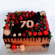 Torta Čokoládová drip torta