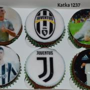 Torta muffiny s Ronaldom i ovocné