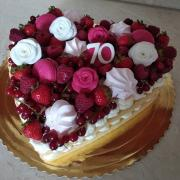 Torta K 70 narodeninám