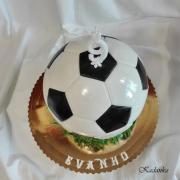 Torta futbalová lopta