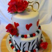 Torta K 50. narodeninám