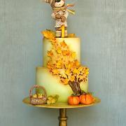 Torta Macko si užíva radosti jesene :-)