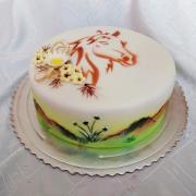 Torta S koníkom