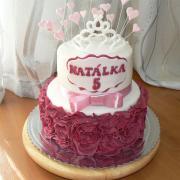Torta Narodeninová tortička pre princeznú