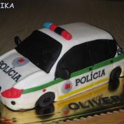 Torta Policajne auto