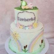 Torta Keď pršalo mrholilo, žabiatko sa narodilo... :)