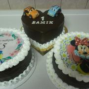 Torta mix čokoládových
