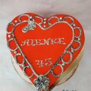 Torta Srdiečková pre maminu od jej 3+1 chlapov :)