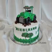 Torta Traktor...