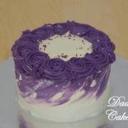 Torta Fialová mini tortička
