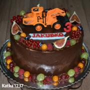 Torta narodeninová pre chlapca