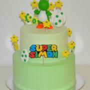 Torta Yoshi - krémová tortička