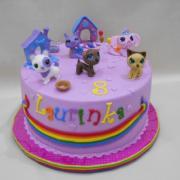 Torta pečo-paky na želanie Laurinke