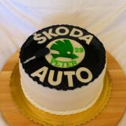 Torta Znak Škoda auto
