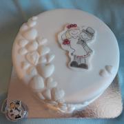 Torta svadobná darovacia...
