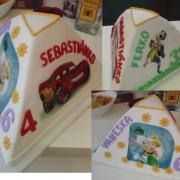 Torta Rodina torta pre 3 oslávencov