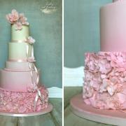Torta Svadobná v ružovom šate :-)
