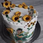 Torta Birmovná (pre dievča, ktoré rado číta a má rado nutellu )