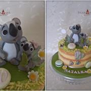 Torta S koalkami pre Natálku