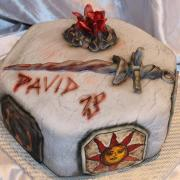 Torta Dark Souls...