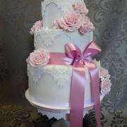 Torta vintage svadobná tortička