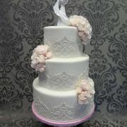 Torta nežná svadobná tortička