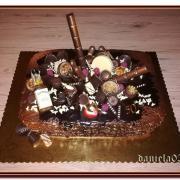Torta čokoládová k 50ke