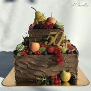Torta čoko s ovocím