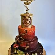 Torta 25.výročie lekárne