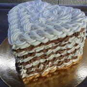 Torta Sušené srdiečko