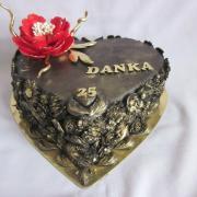 Torta Srdce pre Danku