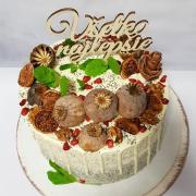 Torta Makovo-višňová