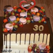 Torta čokoládová k 30tke
