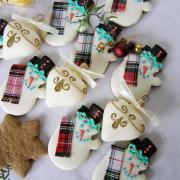 Torta Medovníčky snehuliačikovia