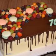 Torta čokoládová k 70tke
