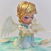 Torta krstinový anjelik s holúbkom