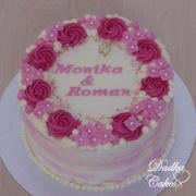 Torta Svadobná darovacia torta