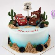 Torta McQueen v púšti