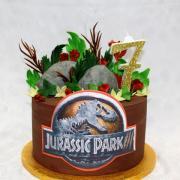 Torta jurassic park