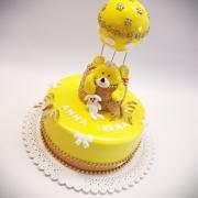 Torta Krstinová s macíkom