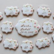 Torta svadobné medovníčky