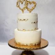 Torta Mini svadobná pre dve zamilované srdiečka :)