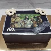 Torta Čoko torta obrazovka s Winnetou