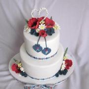Torta Svadobná v ľudovom šate
