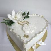 Torta Srdce k narodeninám