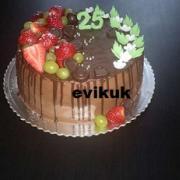 Torta na želanie ovocná
